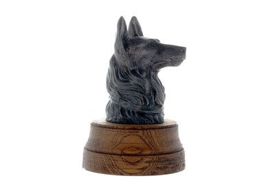 Lot 30-Alsatian / German Shepherd Accessory Mascot