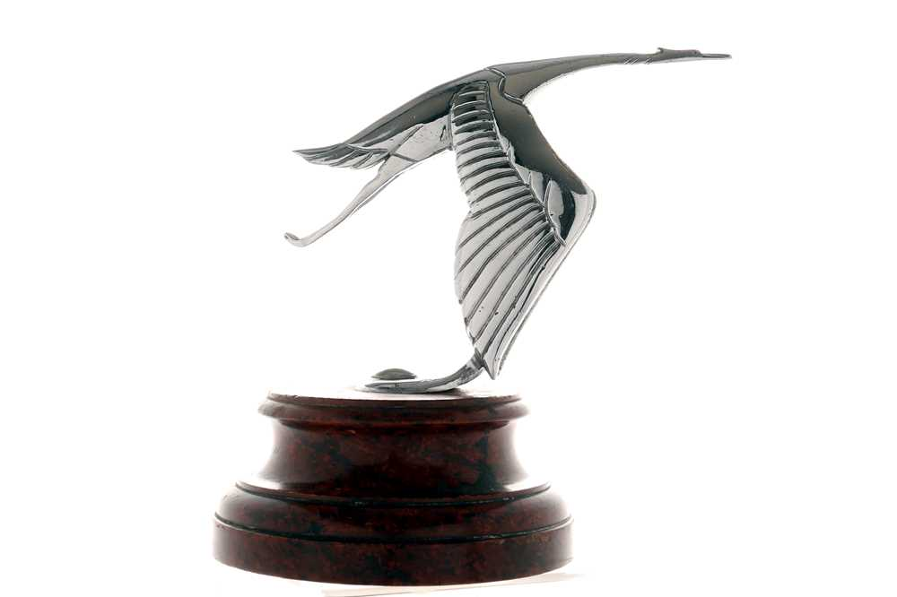 Lot 34-Hispano-Suiza H6B V12 Flying Stork Mascot