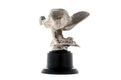 Lot 65-Rolls-Royce Kneeling Lady Mascot
