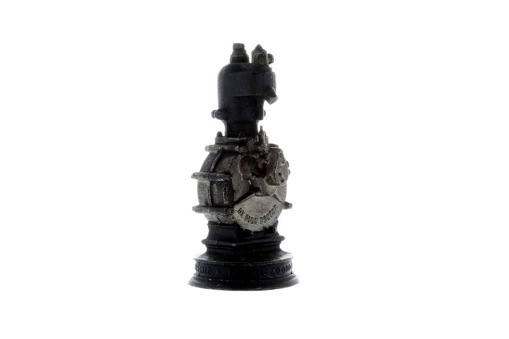 Lot 67-De Dion Bouton Single-Cylinder Engine Paperweight