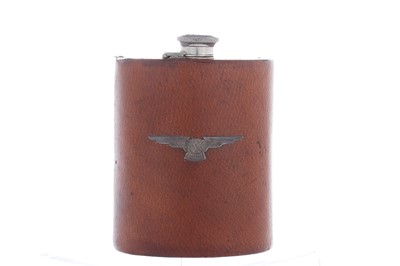 Lot 75-SS Jaguar Drinking Flask, c1930s