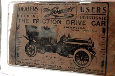 Lot 78-An Advertising Paperweight for Lambert Motorcars, USA