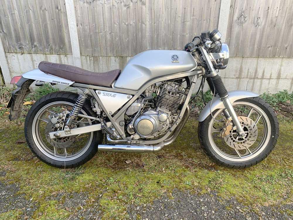 Lot 37-1986 Yamaha SRX600