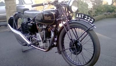 Lot 39-1934 Velocette KSS