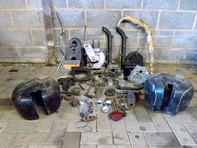 Lot -Velocette KSS Parts