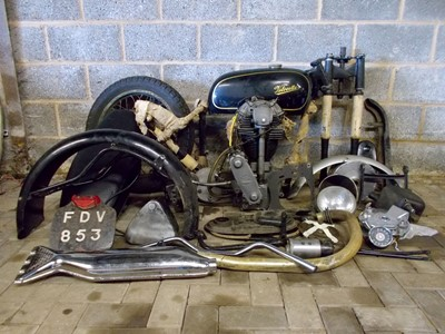 Lot -1963 Velocette Special Project
