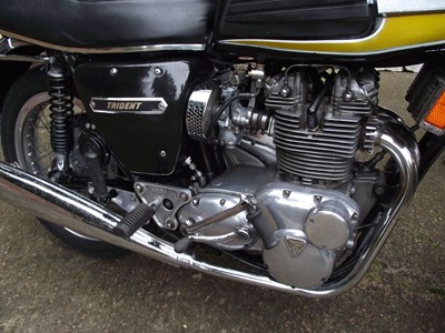 Lot 128-1974 Triumph T150V Bonneville