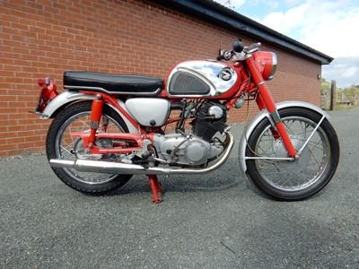 Lot 22-1964 Honda CB72
