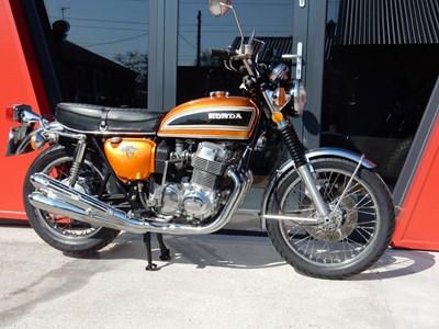 Lot 23-1976 Honda CB750 K6