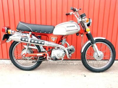 Lot 25-1971 Honda CL70 K3