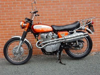 Lot 27-1970 Honda CL450 K3