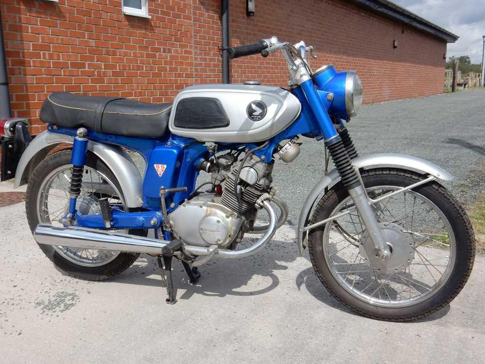 Lot 31-1970 Honda SS125A