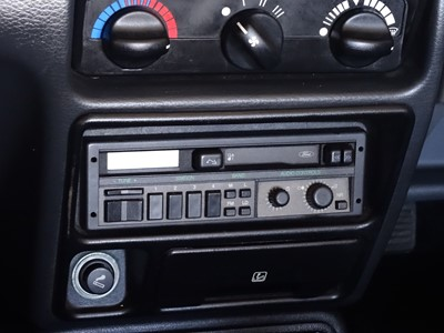 Lot 20 - 1989 Ford Escort XR3i Cabriolet