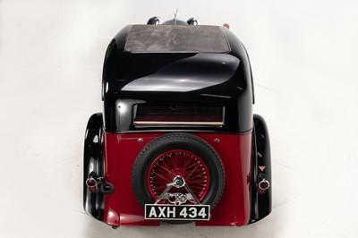 Lot 339-1934 Alvis Speed 20 SB Vanden Plas Two-Door Saloon