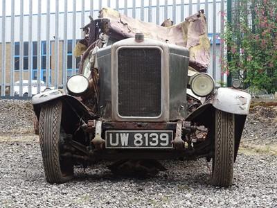 Lot 4 - 1929 Armstrong Siddeley 12/6 Saloon