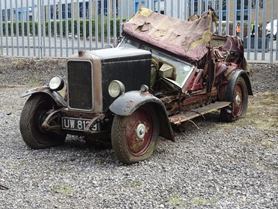 Lot 4-1929 Armstrong Siddeley 12/6 Saloon