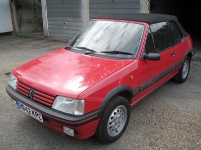 Lot 39 - 1991 Peugeot 205 CTi