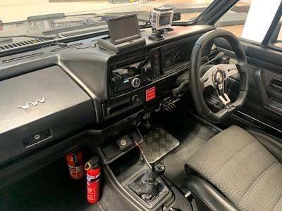 Lot 51 - 1983 Volkswagen Golf GTi Cabriolet