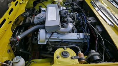 Lot 22 - 1974 Triumph Stag
