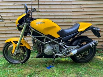 Lot 209-2005 Ducati Monster 800