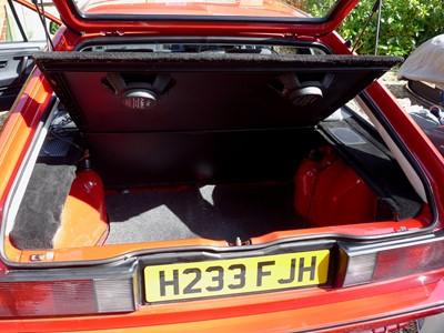Lot 324-1990 Volkswagen Scirocco GT