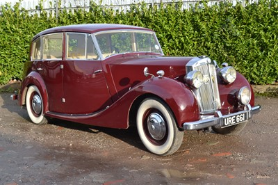 Lot 4 - 1950 Triumph Renown MK1 'Razor Edge' Saloon