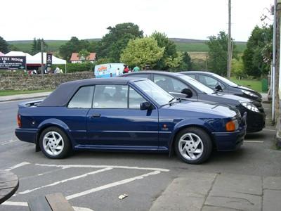 Lot 321-1990 Ford Escort XR3i SE500 Cabriolet