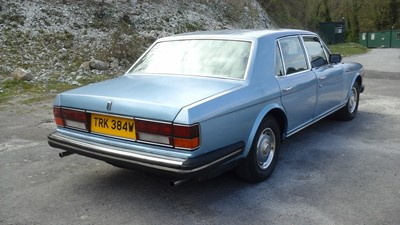 Lot 303-1981 Rolls-Royce Silver Spirit