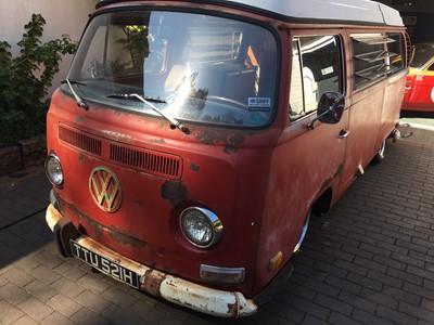 Lot 311-1970 Volkswagen Type 2 Westfalia 'Rat Rod' Camper Van