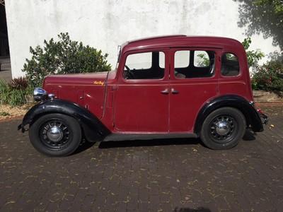 Lot 302-1939 Austin Big Seven Sixlight Saloon