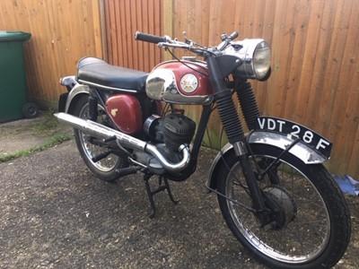 Lot 223-1968 BSA D14/4 Bantam