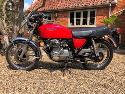Lot 214-1975 Honda CB400 F0
