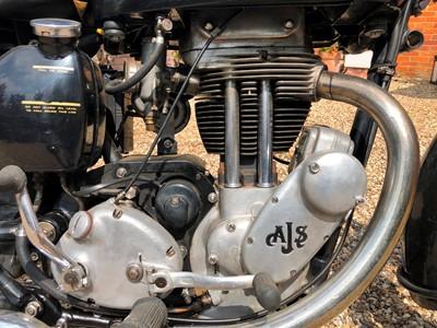 Lot 217-1953 AJS 497cc
