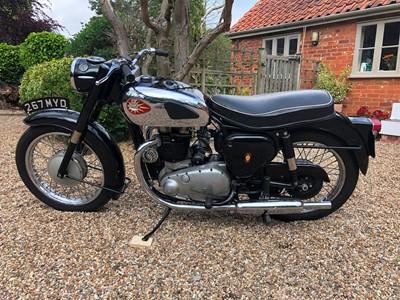 Lot 218-1961 BSA A10 Golden Flash