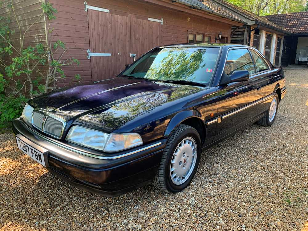 Lot 318 - 1999 Rover Sterling Coupe