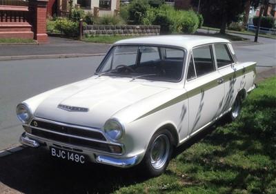 Lot 317-1965 Ford Lotus Cortina