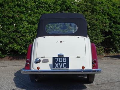 Lot 320-1954 Singer 4AD Roadster