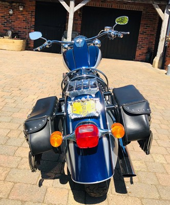Lot 240-2002 Indian Chief Deluxe