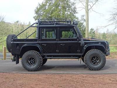 Lot 322-2007 Land Rover Defender 110 2.4 TDCi XS Double Cab Pickup