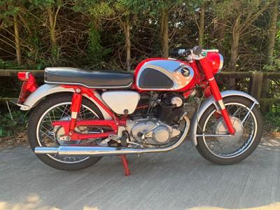 Lot 243-1964 Honda CB72