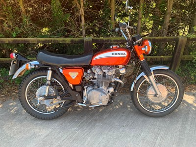 Lot 247-1970 Honda CL450 K3