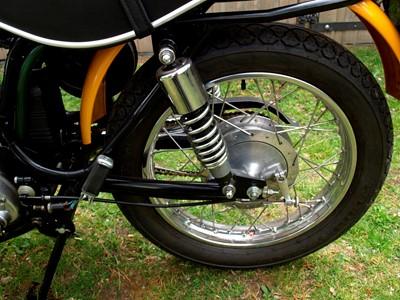Lot 225-1973 Ducati 250 SCR