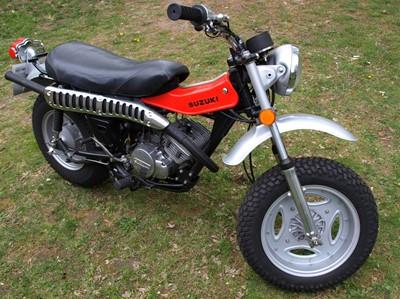 Lot 231-1975 Suzuki RV125M Tracker
