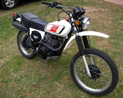Lot 233-1977 Yamaha XT500