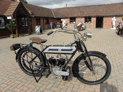 Lot 234-1910 Rex 5hp Tourist