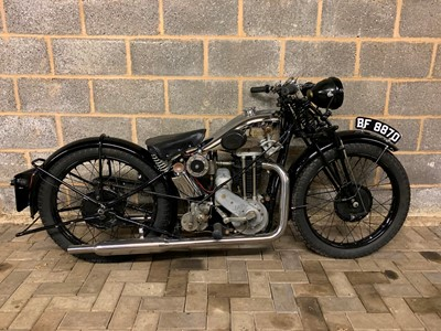 Lot 237-1929 Excelsior Deluxe