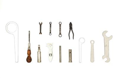 Lot 101-W.O. Bentley Toolkit Items