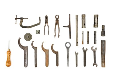 Lot 102-Rolls-Royce 40-50HP Silver Ghost Toolkit Items