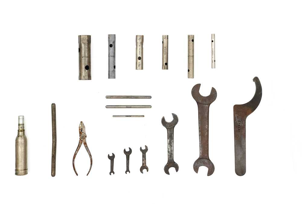 Lot 104-Derby Bentley Toolkit Items