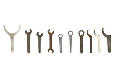 Lot 111-Ten Rolls-Royce Hand Tools